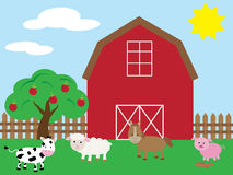 Barnyard Royalty Free Stock Photos