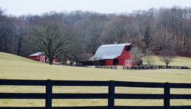 Barnyard. Tennessee, farm Royalty Free Stock Images