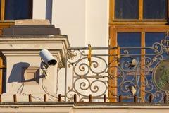 Barocco样式阳台 库存图片