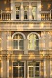Barocco样式阳台 免版税库存图片