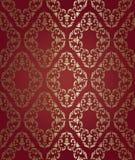 Barocco bezszwowy wzór Obrazy Royalty Free