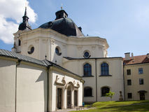 Barocco church in Czech republic Royalty Free Stock Images