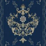 Barocco di vettore royalty illustrazione gratis