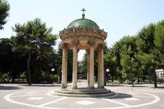 Barocco pavilion. Italia/Lecce park royalty free stock images