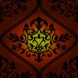 Barocco seamless pattern royalty free illustration