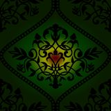 Barocco seamless pattern Royalty Free Stock Image