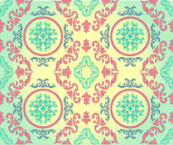 Barocco seamless pattern Royalty Free Stock Images