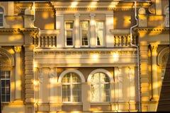 Barocco stilbalkong Arkivfoto