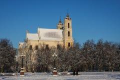 Barock-ähnliche Kirche Lizenzfreies Stockfoto