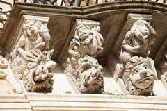 Barock arkitektur Royaltyfria Bilder