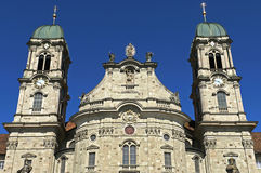 Barock Benedictineabbotsklosterkyrka, Einsiedeln Royaltyfri Foto