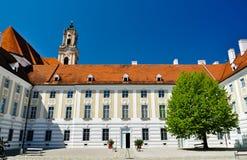 barock borggårdkloster Arkivbild