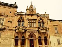 barock byggnad Royaltyfri Bild