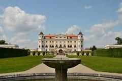Barock Chateau Milotice Arkivbild