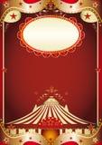 barock cirkus royaltyfri illustrationer