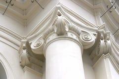 barock kolonndetalj Royaltyfri Fotografi