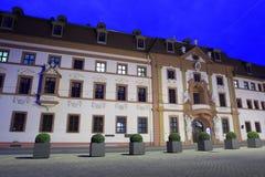 Barock plats av den Thüringen regeringen Royaltyfria Bilder