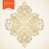 Barock prydnad för vektor i viktoriansk stil. Royaltyfri Bild