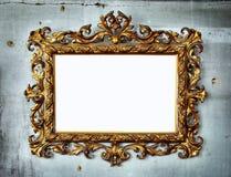 barock ram Fotografering för Bildbyråer