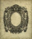 barock ram Arkivfoto