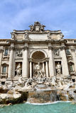 barock rome för springbrunnitaly mästerverk trevi Royaltyfri Bild
