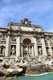 barock rome för springbrunnitaly mästerverk trevi Fotografering för Bildbyråer