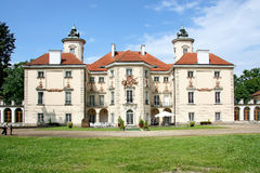 barock slott Arkivfoto