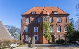 Barock slott Agathenburg i lägre Sachsen Royaltyfri Fotografi