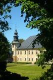 Barock slott Bludov Royaltyfri Foto