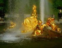 barock springbrunn royaltyfri foto