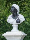 Barock staty av enamerikan kvinna, Potsdam, royaltyfria foton