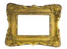 barock trärambild royaltyfria foton