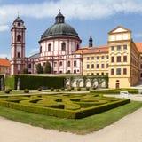 Barock- und Renaissanceschloss Jaromerice nad Rokytnou lizenzfreie stockbilder