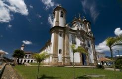 barocka koloniala rokokor för arkitektur Royaltyfria Foton