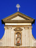Barocke Basilika Stockfotografie