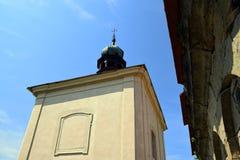 Barocke Kapelle im Freien Stockbilder