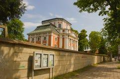 Barocke Kirche - der Schlosskirche Buch - in Alt Buch Berlin Lizenzfreies Stockfoto
