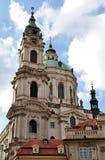 Barocke Kirche, Prag, Tschechische Republik, Europa Lizenzfreie Stockfotografie