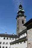 Barocke Kirche in Salzburg Lizenzfreie Stockbilder