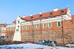 Dominikanische barocke Kirche in Piotrkow Lizenzfreie Stockfotografie