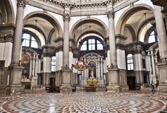 Barocke Kirche in Venedig Lizenzfreies Stockbild