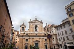 Barocke Kirche von Rom, Italien lizenzfreie stockbilder