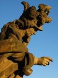 Barocke Statue Stockbilder