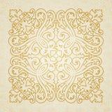 Barocke Verzierung des Vektors im viktorianischen Stil Lizenzfreie Stockbilder