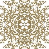 Barocke Verzierung des Vektors im viktorianischen Stil Aufwändiges Element für d Stockbild