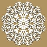 Barocke Verzierung des Vektors im viktorianischen Stil Aufwändiges Element für Design Toolkit für Designer Traditioneller Blumend Stockfoto