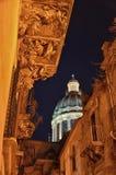 Barocken i Ragusa Ibla Arkivfoton
