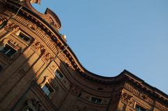 Barocker Carignano Palast in Turin, Italien Lizenzfreie Stockfotografie