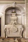 Barocker Grab-Tod des 18. Jahrhunderts Stockfoto