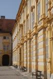 Barocker Hof von Benedictjne-Abtei Stockfotografie